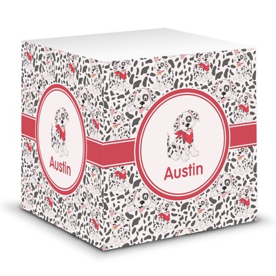 Dalmation Sticky Note Cube (Personalized)