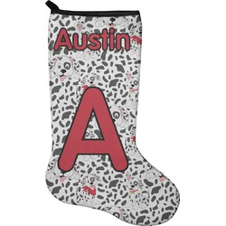 Dalmation Holiday Stocking - Neoprene (Personalized)