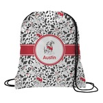 Dalmation Drawstring Backpack (Personalized)