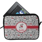 Dalmation Tablet Case / Sleeve (Personalized)