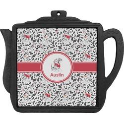 Dalmation Teapot Trivet (Personalized)