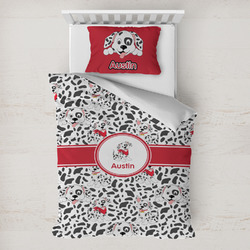 Dalmation Toddler Bedding w/ Name or Text