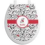Dalmation Toilet Seat Decal (Personalized)