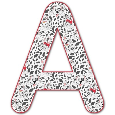 Dalmation Letter Decal - Custom Sizes (Personalized)