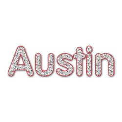 Dalmation Name/Text Decal - Custom Sizes (Personalized)