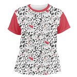 Dalmation Women's Crew T-Shirt (Personalized)