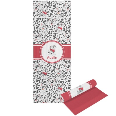 Dalmation Yoga Mat - Printable Front and Back (Personalized)