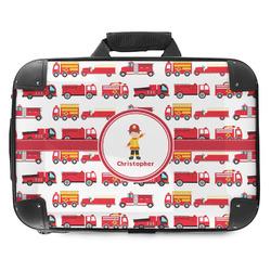 Firetrucks Hard Shell Briefcase (Personalized)