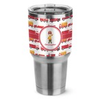 Firetrucks Stainless Steel Tumbler - 30 oz (Personalized)