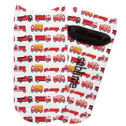 Firetrucks Adult Ankle Socks (Personalized)