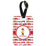Firetrucks Aluminum Luggage Tag (Personalized)