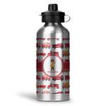 Firetrucks Water Bottle - Aluminum - 20 oz (Personalized)