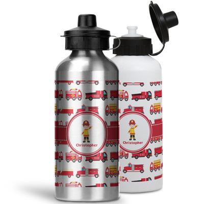Firetrucks Water Bottles- Aluminum (Personalized)