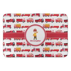 Firetrucks Anti-Fatigue Kitchen Mat (Personalized)