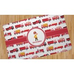 Firetrucks Area Rug (Personalized)