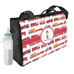 Firetrucks Diaper Bag (Personalized)