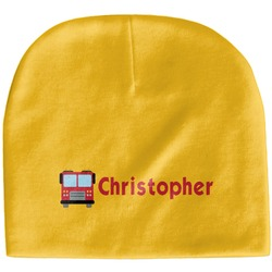 Firetrucks Baby Hat (Beanie) (Personalized)