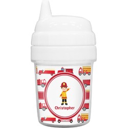 Firetrucks Baby Sippy Cup (Personalized)