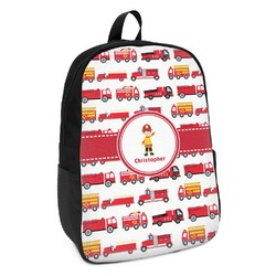 Firetrucks Kids Backpack (Personalized)