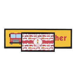 Firetrucks Bar Mat (Personalized)