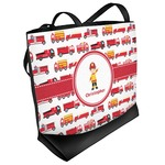 Firetrucks Beach Tote Bag (Personalized)