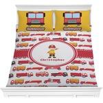 Firetrucks Comforters (Personalized)