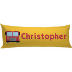 Firetrucks Body Pillow Case (Personalized)