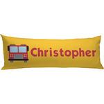 Firetrucks Body Pillow Case (Personalized)