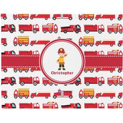 Firetrucks Placemat (Fabric) (Personalized)