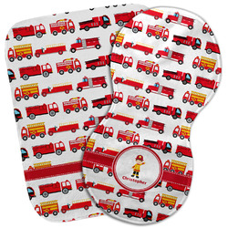 Firetrucks Burp Cloth (Personalized)