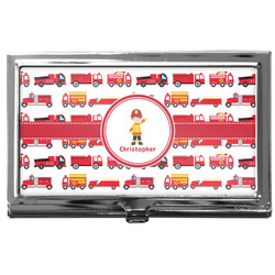 Firetrucks Business Card Case
