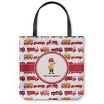 Firetrucks Canvas Tote Bag (Personalized)