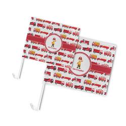 Firetrucks Car Flag (Personalized)