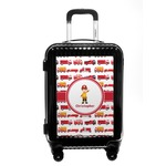 Firetrucks Carry On Hard Shell Suitcase (Personalized)