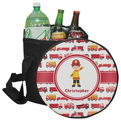 Firetrucks Collapsible Cooler & Seat (Personalized)