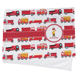 Firetrucks Cooling Towel (Personalized)