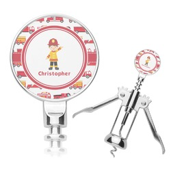 Firetrucks Corkscrew (Personalized)