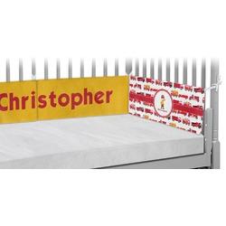 Firetrucks Crib Bumper Pads (Personalized)
