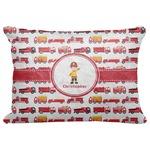 "Firetrucks Decorative Baby Pillowcase - 16""x12"" (Personalized)"