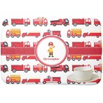 Firetrucks Dish Drying Mat (Personalized)
