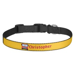 Firetrucks Dog Collar - Multiple Sizes (Personalized)