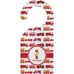 Firetrucks Door Hanger (Personalized)