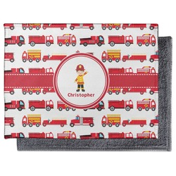 Firetrucks Microfiber Screen Cleaner (Personalized)