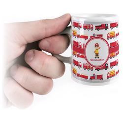 Firetrucks Espresso Cups (Personalized)