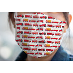 Firetrucks Face Mask Cover (Personalized)