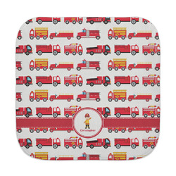 Firetrucks Face Towel (Personalized)