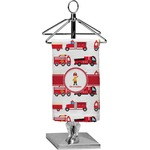 Firetrucks Finger Tip Towel - Full Print (Personalized)