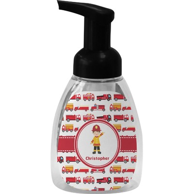 Firetrucks Foam Soap Dispenser (Personalized)