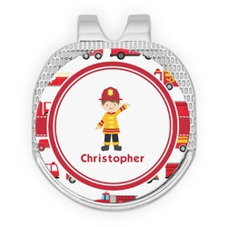 Firetrucks Golf Ball Marker - Hat Clip