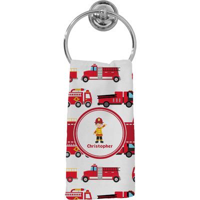 Firetrucks Hand Towel - Full Print (Personalized)